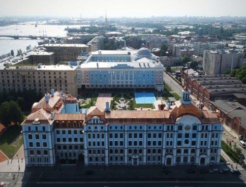 Строительство <br>Многофункционального корпуса Нахимовского училища